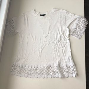 Elevated white T-shirt